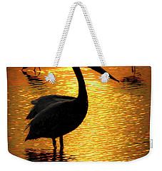 Pelican And Avocets Weekender Tote Bag