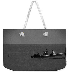 Pelican And The Fishing Boat Weekender Tote Bag