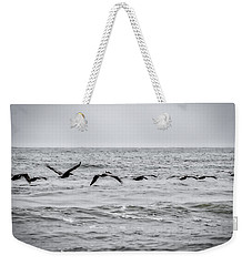 Pelican Black And White Weekender Tote Bag