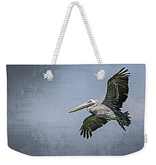 Pelican Flight Weekender Tote Bag by Carolyn Marshall