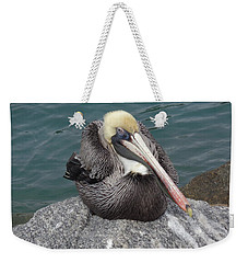 Pelican Weekender Tote Bag by John Mathews