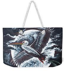 Pelican Moon Weekender Tote Bag