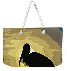 Pelican Paint Weekender Tote Bag