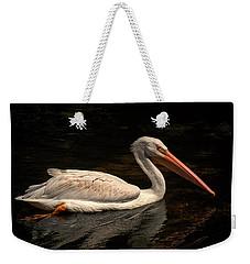 Pelican Swimming In Salisbury Weekender Tote Bag