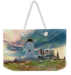Pemaquid Lighthouse,maine Weekender Tote Bag