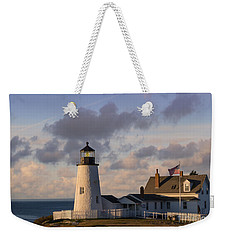 Pemaquid Morning Weekender Tote Bag