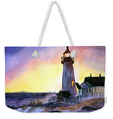 Pemaquid Point Lighthouse Maine Weekender Tote Bag
