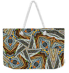 Pemaquid Rocks Pinwheel Weekender Tote Bag