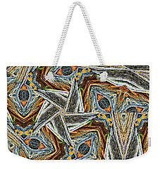 Pemaquid Rocks Pinwheel Weekender Tote Bag