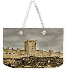 Penafiel Castle, Spain. Weekender Tote Bag