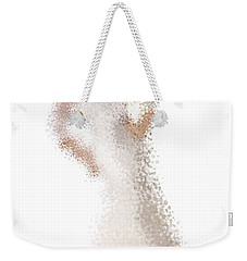 Weekender Tote Bag featuring the digital art Penelope by Nancy Levan