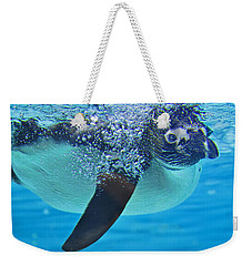 Penguin Dive Weekender Tote Bag