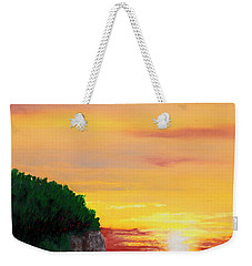 Peninsula Park Sunset Weekender Tote Bag