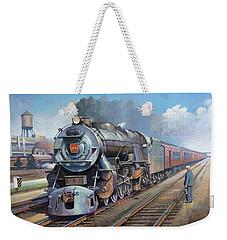 Penn Central Pacific. Weekender Tote Bag by Mike Jeffries