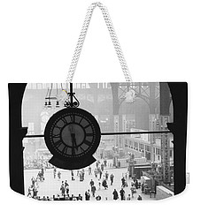 Penn Station Clock Weekender Tote Bag