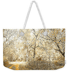 Pennsylvania Autumn Woods Weekender Tote Bag by A Gurmankin