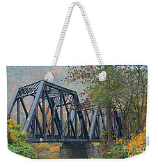 Pennsylvania Bridge Weekender Tote Bag by Cindy Manero