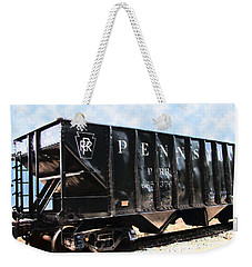 Weekender Tote Bag featuring the photograph Pennsylvania Hopper by RC DeWinter