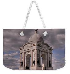 Pennsylvania Memorial At Gettysburg Weekender Tote Bag
