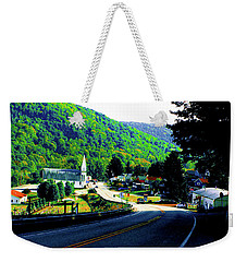 Pennsylvania Mountain Village Weekender Tote Bag