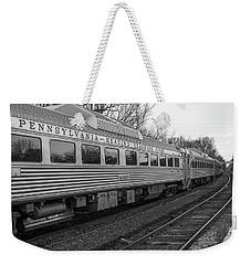 Pennsylvania Reading Seashore Lines Train Weekender Tote Bag
