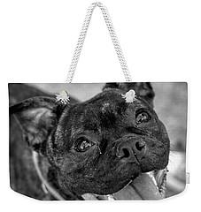 Penny - Dog Portrait Weekender Tote Bag