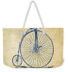Penny-farthing 1867 High Wheeler Bicycle Vintage Weekender Tote Bag