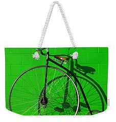 Penny Farthing Bike Weekender Tote Bag