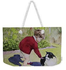 Penny Lives With Jesus Weekender Tote Bag