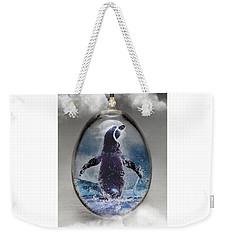 Penquin Art Weekender Tote Bag