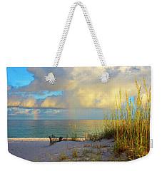 Pensacola Rainbow At Sunset Weekender Tote Bag