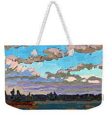 Pensive Clouds Weekender Tote Bag