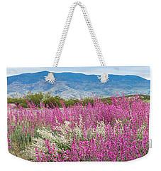 Penstemon At Black Hills Weekender Tote Bag by Karen Stephenson