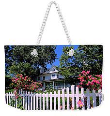 Peonies And Picket Fences Weekender Tote Bag