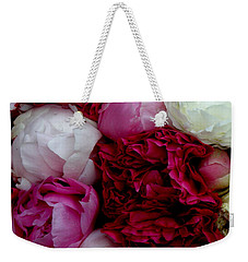 Peony Bouquet Weekender Tote Bag by Lainie Wrightson