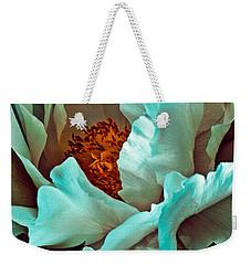 Peony Flower Weekender Tote Bag by Chris Lord