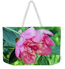 Peony In Pink  Weekender Tote Bag