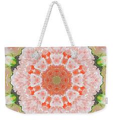Peony Kaleidoscope 1 Weekender Tote Bag