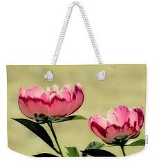 Peony Pair - Enhanced Weekender Tote Bag