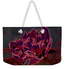 Peony Tulip Weekender Tote Bag
