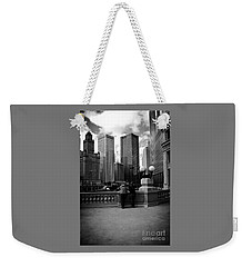 People And Skyscrapers Weekender Tote Bag
