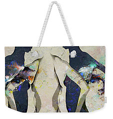 People Watching - A Gathering Weekender Tote Bag by Ed Hall