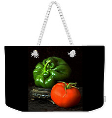 Pepper And Tomato Weekender Tote Bag