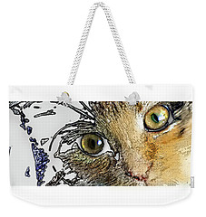 Pepper Eyes Weekender Tote Bag