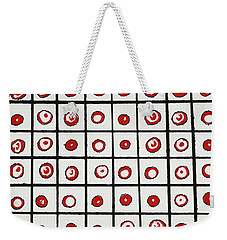 Peppermint And Licorice Weekender Tote Bag