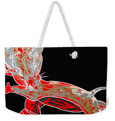 Peppermint Weekender Tote Bag