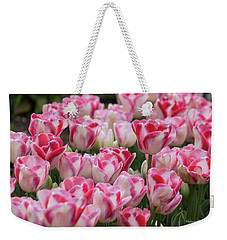 Peppermint Tulip Field IIi Weekender Tote Bag