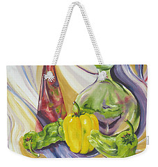 Peppers And Passion Weekender Tote Bag
