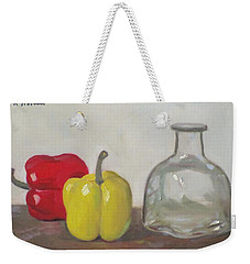 Peppers And Tequila Bottle Weekender Tote Bag