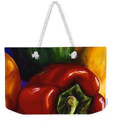 Peppers On Peppers Weekender Tote Bag